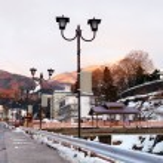 Hot spring resort town Shibu Onsen — Stock Photo #68882655
