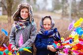在芬兰的复活节 — 图库照片