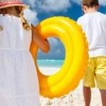 Family beach vacation — Stock Photo #70713813
