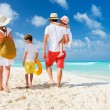 Family beach vacation — Stock Photo #70713835