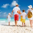 Family beach vacation — Stock Photo #70713855