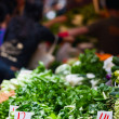Different herbs at market stall — Stock Photo #75969969