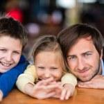 Family outdoors — Stock Photo #82143844
