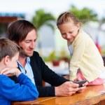 Family outdoors — Stock Photo #82143968