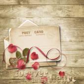 Carta di San Valentino. — Foto Stock