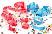 серпантин и конфетти — Стоковое фото