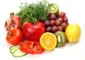 Verdure e frutta matura — Foto Stock