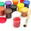 Brushes and paints — Stock Photo #54716141