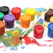 Brushes and paints — Stock Photo #54716157