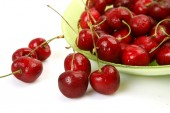 Ripe cherries — Stock Photo