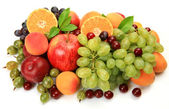 Ripe fruits and berries — Stock Photo