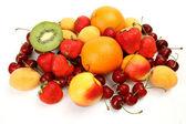 Fresh fruit and berries — Stock Photo