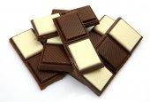 White and black Chocolate — Stock Photo
