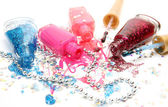 Color nail polishes — Stock Photo