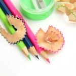 Three Color pencils — Stock Photo #64383295
