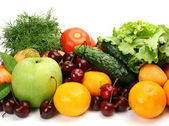 Fresh fruit and vegetables — Stock Photo