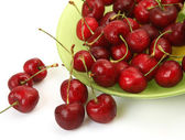 Ripe berries in the plate — Stock Photo
