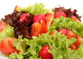 Salad from fresh vegetables — Stock Photo