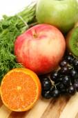 Fresh ripe fruits — Stock Photo