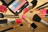 Different decorative cosmetics — Stock Photo