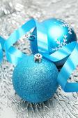 Dekoratif Noel topları — Stok fotoğraf
