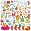 Christmas decorations — Stock Vector #53640169