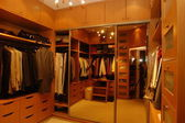 Modern dressing room — Stock Photo