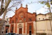 Church San Marco in Milan — Stock Photo