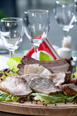 Cold meat platter — Stock Photo