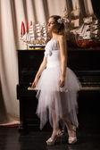 Bride in a boudoir — Stock Photo