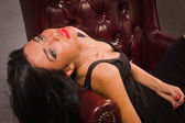Sensual unconscious woman — Stock Photo