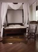 Dormitorio en el estilo vintage — Foto de Stock