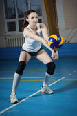 Volleyball game sport — Foto Stock