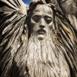 Wooden statue of the idol. — Stock Photo #81143580