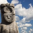 Wooden statue of the idol. — Stock Photo #81184930