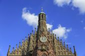 Church of Our Lady (Frauenkirche) in Nuremberg, Germny — Stock Photo