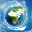 World atmosphere day globe — Stock Photo #57374557