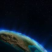 USA from space — Stock Photo