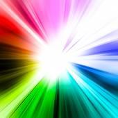 Abstract rainbow ray — Stock Photo