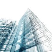 Abstracte gebouw — Stockfoto