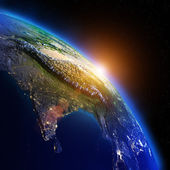 World geography — Stock Photo