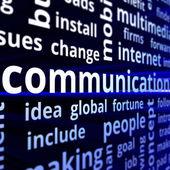 Communication concept — Stock Photo