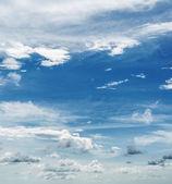 Tropical morning sky panorama — Stock Photo