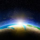 Earth map — Stock Photo