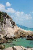 Lamai beach, Samui — Stock Photo