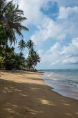 Indian ocean beach — Stock Photo