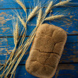 Wheat and bread — Stock Photo #79607414