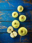 Green apple — Stock Photo
