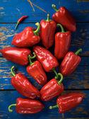 Red organic pepper — Stock Photo