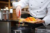 Matlagning — Stockfoto